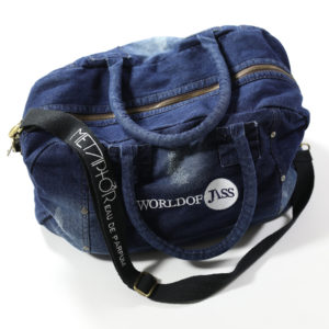 Targa Florio X World of Jass Denim Bag
